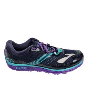 Brooks Womens 8 Pure Grit 5 Shoes Sneakers EXC